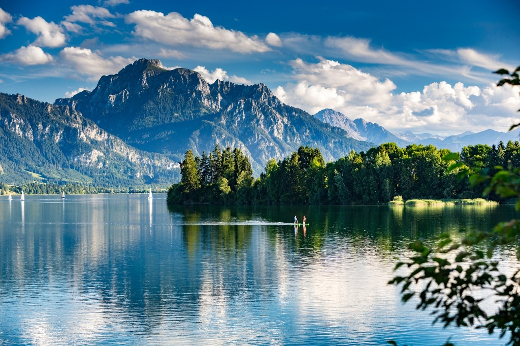 Forggensee Standup-Paddling - @ Autor: moreimages - © Quelle: shutterstock
