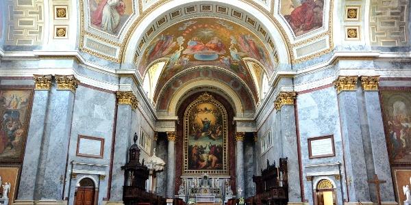 Az Esztergomi bazilika templombelsője