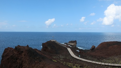 View to the sea at Punta de Teno