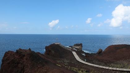 Vista al mar desde la Punta de Teno
