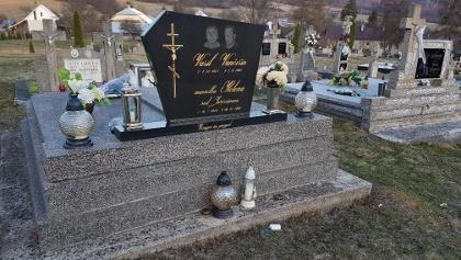 Friedhof Krajna Porubka - die Inschriften sind hinten