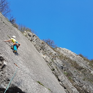 Dalle Imperiale, 6b, 50m.