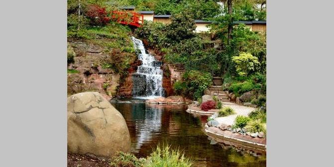Japanischer Garten Kaiserslautern Wasserfall Die Schönsten
