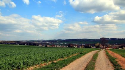 Blick in Richtung Jahnsdorf