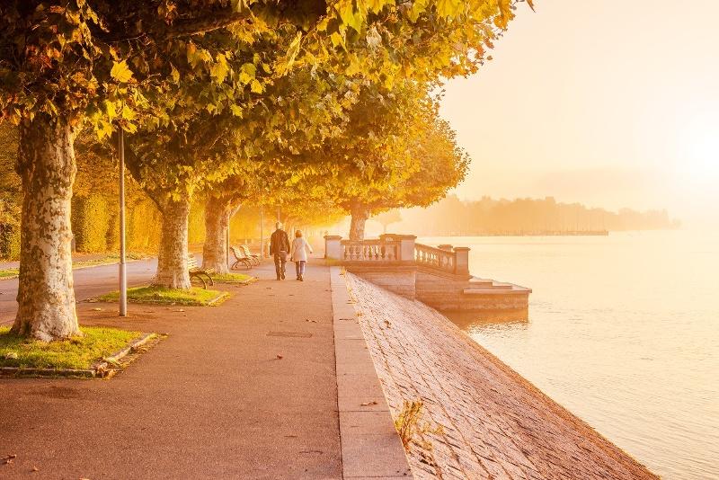 Gehweg entlang der Konstanzer Seestraße