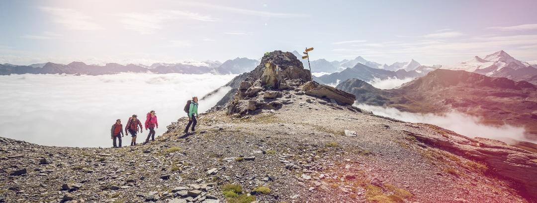 Hiking, Vallon de Réchy