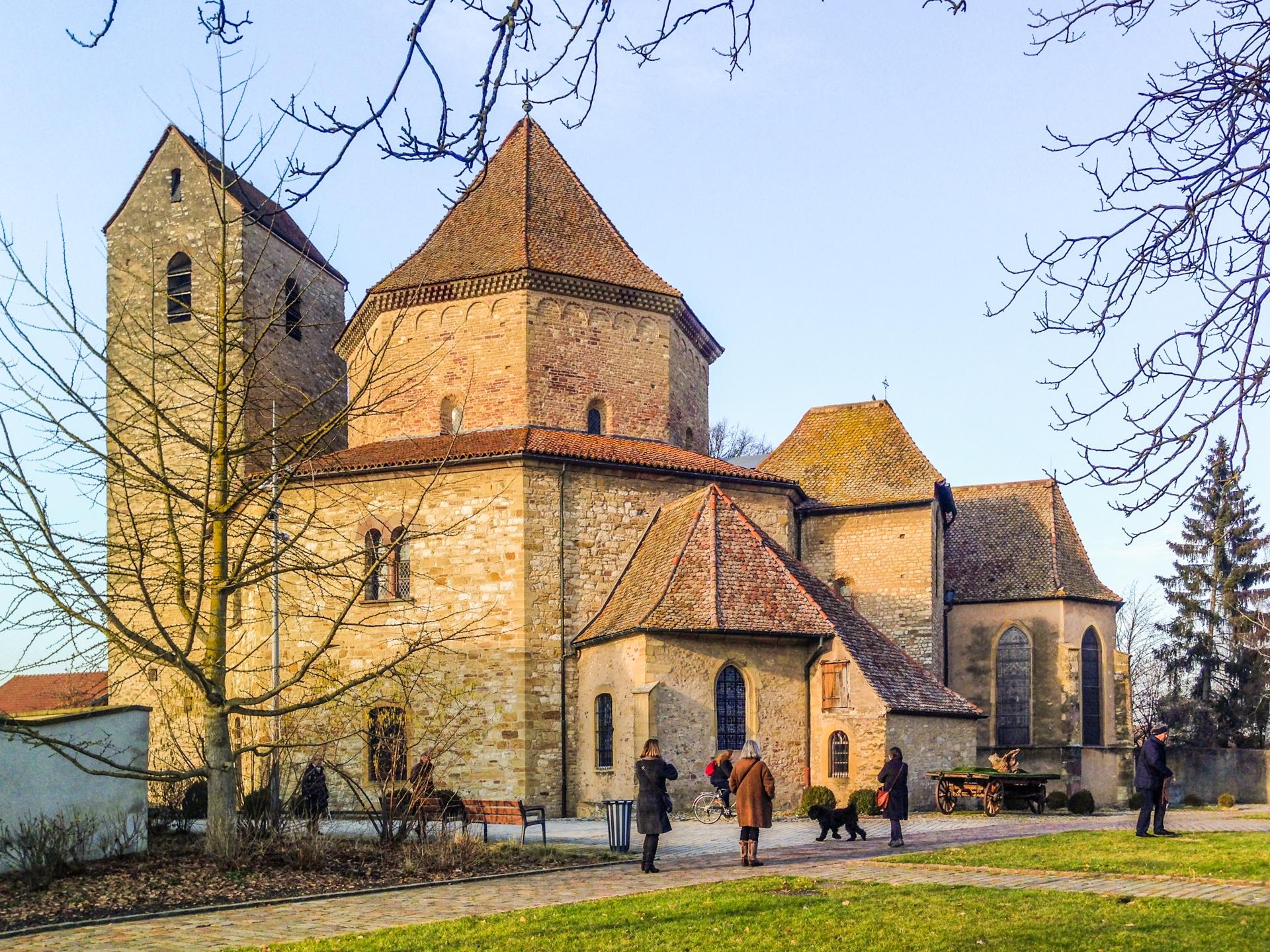 Eglise romaine Ottmarsheim - Romanische Kirche Ottmarsheim