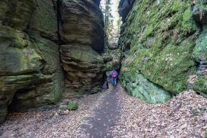 Foto Das Uttewalder Felsentor