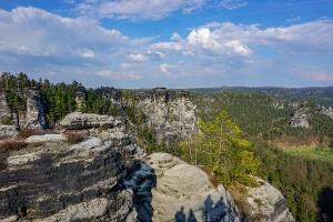 Foto Aussicht vom Basteifelsen