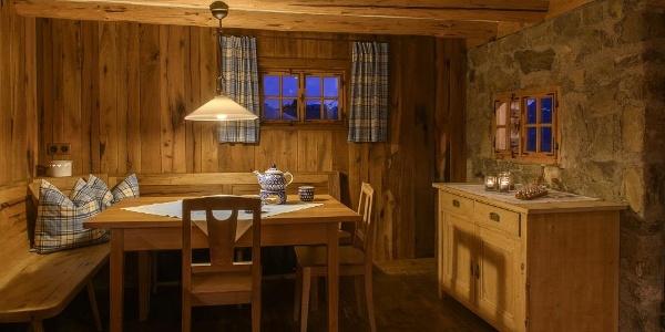 Berghaus Bartholomäberg Stube in der Küche