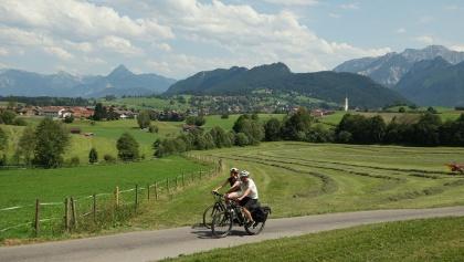 Radfahren im Schlosspark