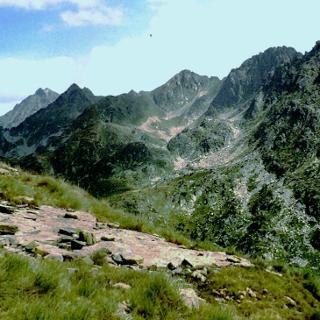 Between Cabana Sorda and Anrodat. The Juclar ridges