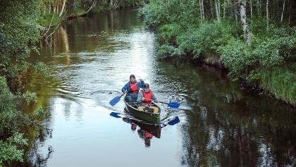Wassersport in Pyhä-Luosto