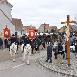 Wittchenauer Osterreiter in Ralbitz