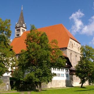 <![CDATA[Die älteste gotische Hallenkirche Süddeutschlands: Stiftskirche Maria Himmelfahrt in Laufen]]>