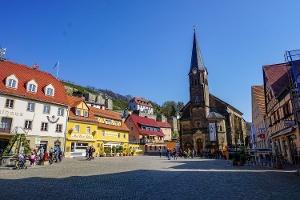 Foto Marktplatz in Wehlen