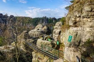 Foto In der Felsenburg Neurathen