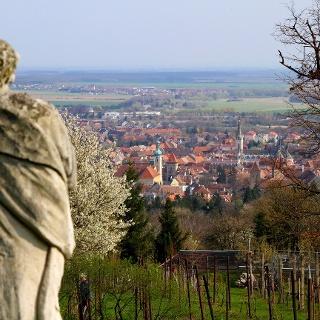 Kilátás a Kálvária-templomtól