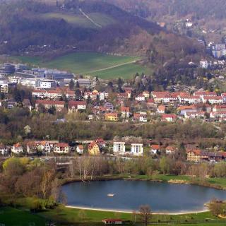 Schleichersee, Beutenbergcampus und Ammerbacher Platte