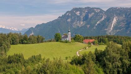 <![CDATA[Berggasthof Johannishögl und Kirche St. Johannes Piding]]>