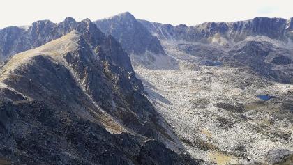 Auf dem Pic de Montmalus. Der Pessons-Bergkessel