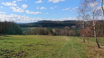 Foto Abstieg nach Cunnersdorf