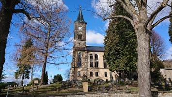 Foto Kirche in Cunnersdorf