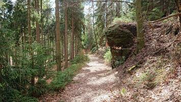 Foto Abstieg vom Katzstein zum Rotstein