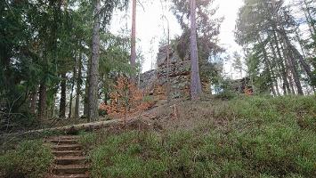 Foto Aufstieg zum Rotstein