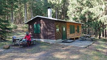 Foto Die Rotsteinhüttte (Trekkinghütte)