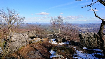 Foto Östlicher Aussichtspunkt auf dem Hohen Schneeberg