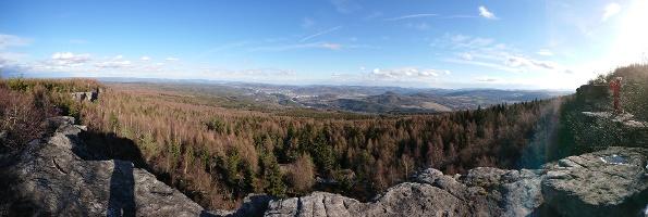 Foto Aussicht vom Hohen Schneeberg