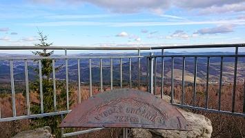 Foto Aussichtspunkt an Gaststätte auf dem Hohen Schneeberg