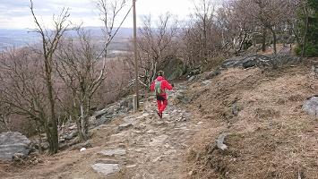 Foto Abstieg vom Hohen Schneeberg