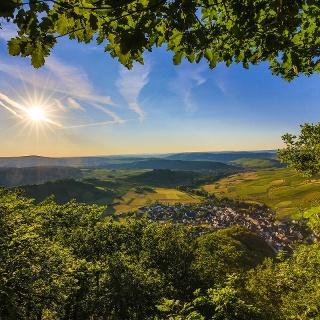 Blick auf die ehemalige Grafschaft Veldenz