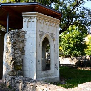 A domonkos rendi apácakolostor romjai a Margitszigeten