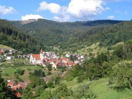 Auf dem Panoramaweg um Reichental