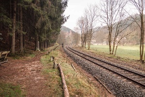 "Foto ""Semmeringbahn"" im Sebnitztal"
