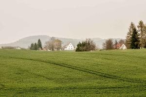Foto Der Gickelsberg bei Lohsdorf (von Ulbersdorf auf dem Weg ins Sebnitztal zurück)