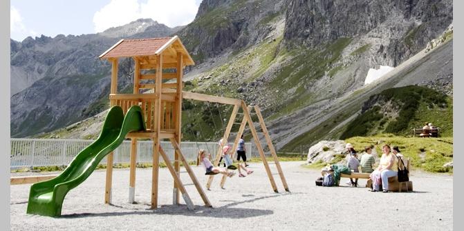 spielplatz l nersee brandnertal spielplatz. Black Bedroom Furniture Sets. Home Design Ideas