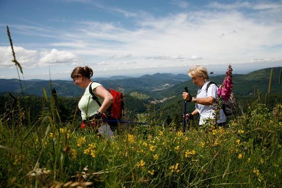 Von der Kreuzlehütte über die Teufelsmühle nach Gernsbach