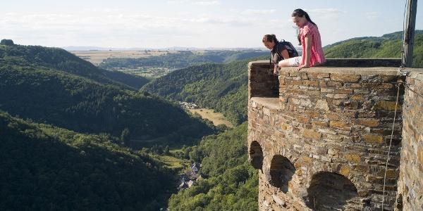 Bergschluchtenpfad Ehrenburg_Auf der Ehrenburg