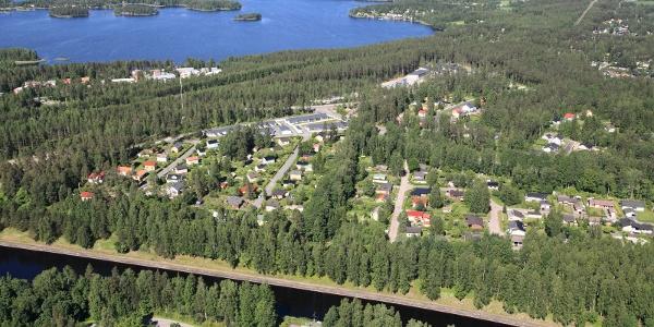 Kaukaa Industrieumgebung & Wohngebiete Kanavansuu und Mälkiä