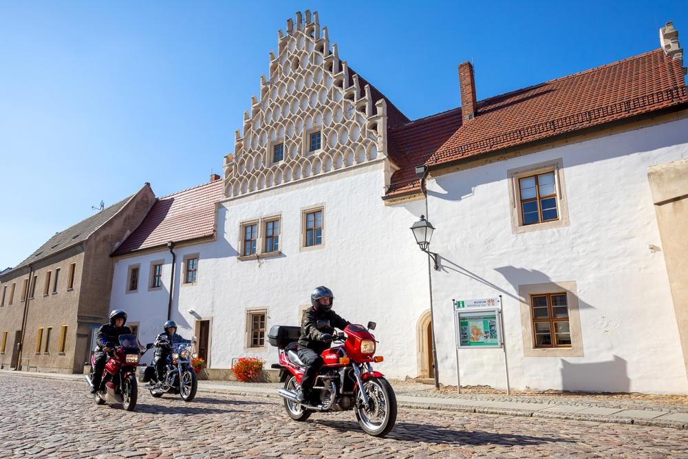 Im Museum und Kloster der mittelalterlichen Stadt MühlbergElbe kann man eine Zeitreise in die Vergangenheit machen