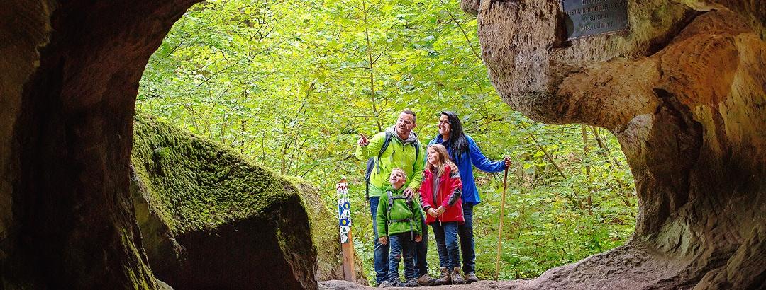 Felsenspaß für die Familie in der Region Müllerthal