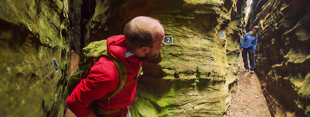 Felsenwelt in der Region Müllerthal entdecken