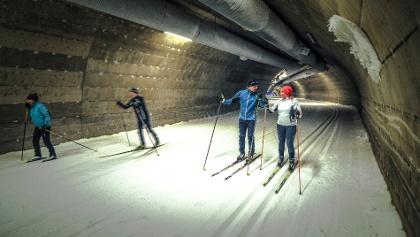 Ski tunnel Vuokatti Finland