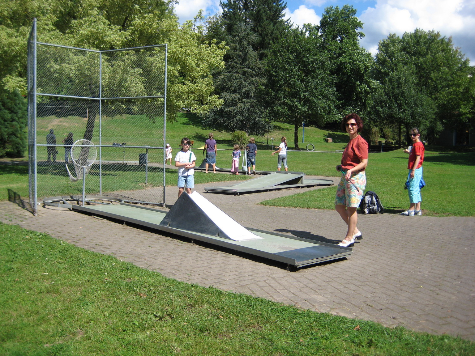 Minigolf Kurpark Waldbronn