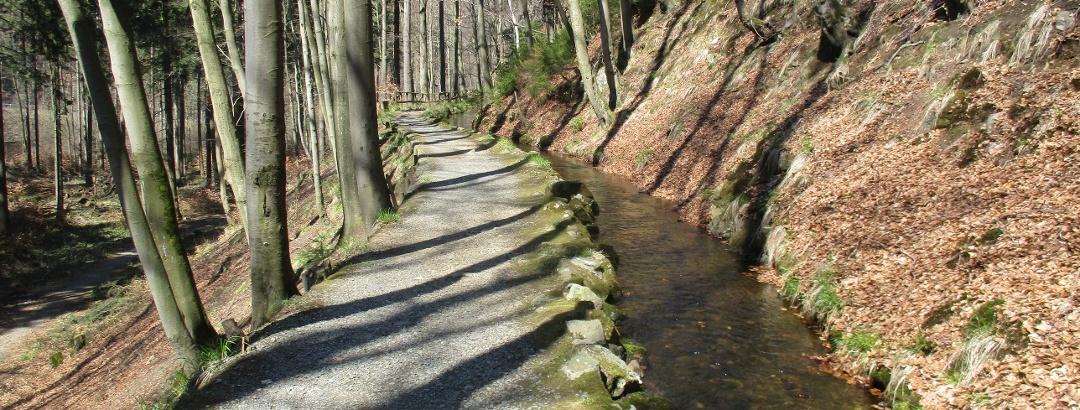 Trail an der Radau
