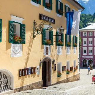 <![CDATA[Das Neuhaus in der Berchtesgadener Fußgängerzone]]>